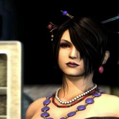 Lulu durante o final de <i>Final Fantasy X</i>.