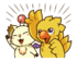 LINE Chocobo Sticker25