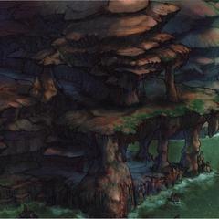Mushroom Rock Road.