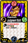 Ramuh Judgment Bolt