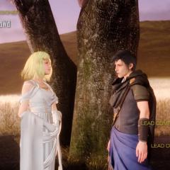 As versões oníricas de Ardyn de Aera e Somnus.