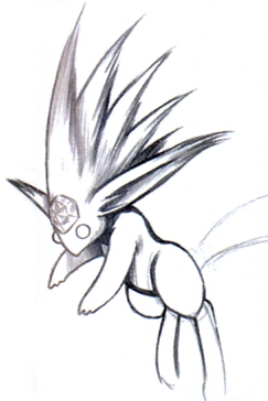 Carbuncle FFVIII Portrait Art