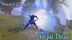 DFF2015 Vorpal Thrust