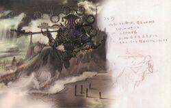 Fal'Cie Ramuh FFXIII Concept Art