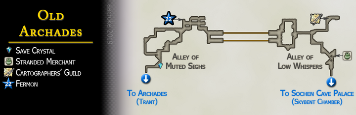 Map 28 Old Archades