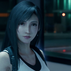 Tifa in the lobby of <a href=