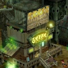 Background in the original game.