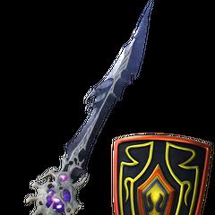 WoL's Barbarian's Sword & Aegis.