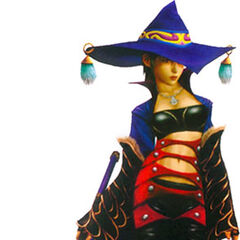 Paine as a Black Mage.