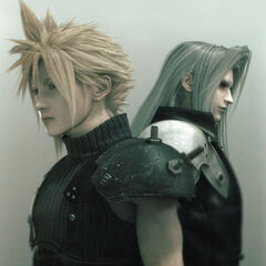 Promotional Art of Cloud & Sephiroth