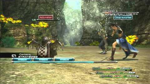 Final Fantasy XIII Combat contre Verdelet