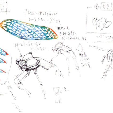 Concept art of a Fly.