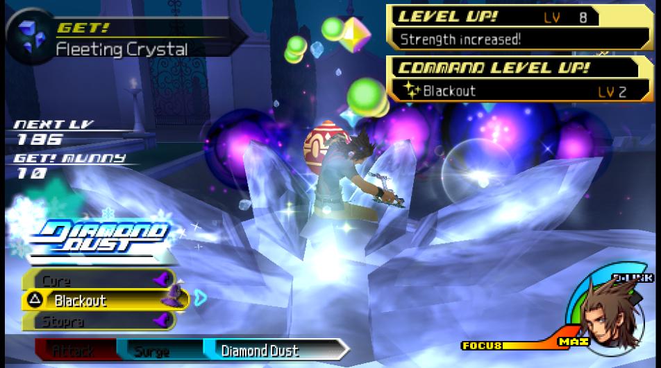 Diamond Dust Kingdom Hearts Birth By Sleep Terra