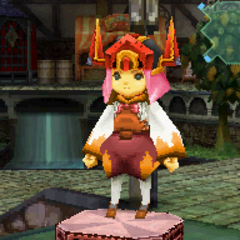 Svarog's Sallet in <i>Final Fantasy Crystal Chronicles: Ring of Fates</i>.