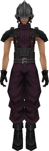 Final Fantasy Soldier Mens Vest