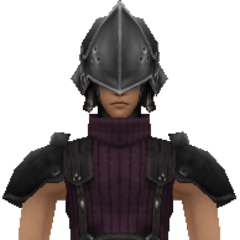 Model of 2nd Class SOLDIER from <i>Crisis Core -Final Fantasy VII-</i>.