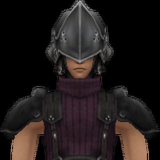 Modelo de 2° Classe em <i>Crisis Core -Final Fantasy VII-</i>.