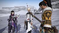 Yshtola Hien and Yugiri FFXIV Patch4.4