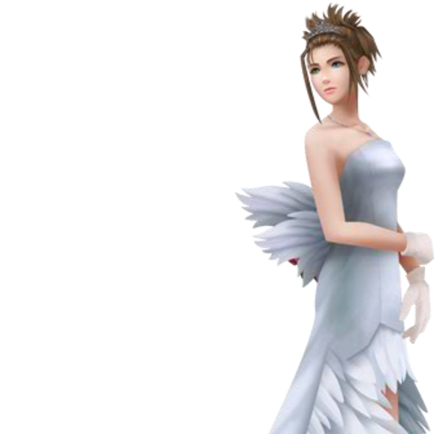 Yuna's wedding dress.