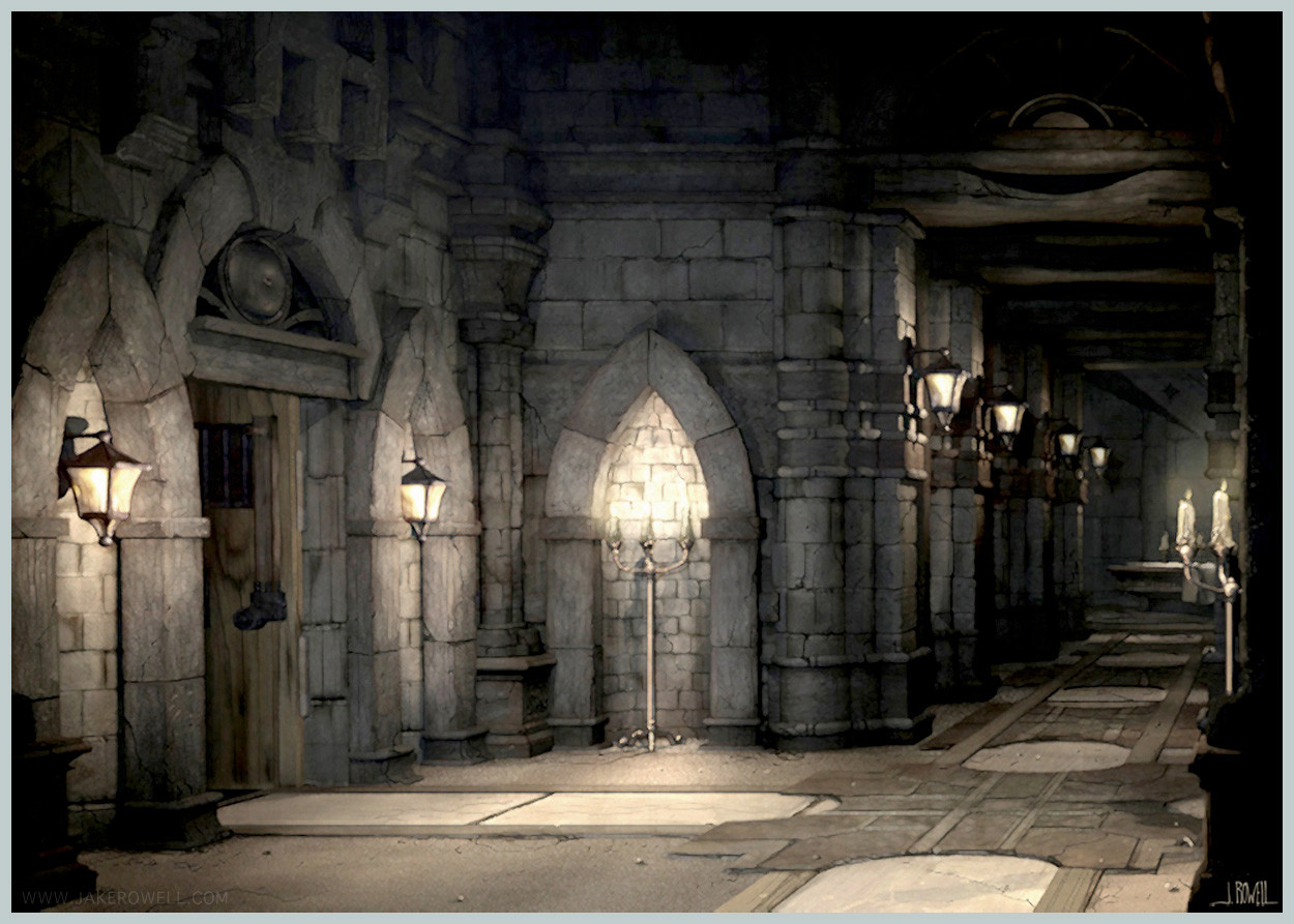 alexandria castle hallwayjpg