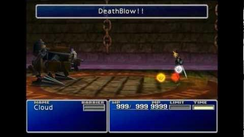 DeathBlow!! - Choco Mog summon sequence - FFVII