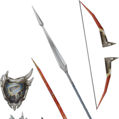Firion's weapons.