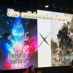<i>NieR: Automata</i> collaboration featuring 2B, 9S and A2 announced at the <i>Final Fantasy Brave Exvius</i> FAN FESTA in Paris.