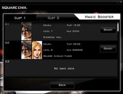 FFVIII Magic Booster