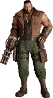 FFVIIR Barret Wallace