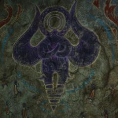 The art of Zodiark's original form.