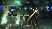 Final Fantasy VII Remake Cloud Dynamic Theme PS4