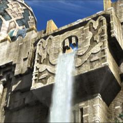 Nalbina's waterfall.