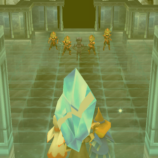 Baron troops in the Crystal Chamber