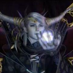 Imperador na abertura em FMV para o <i>Final Fantasy Origins</i>