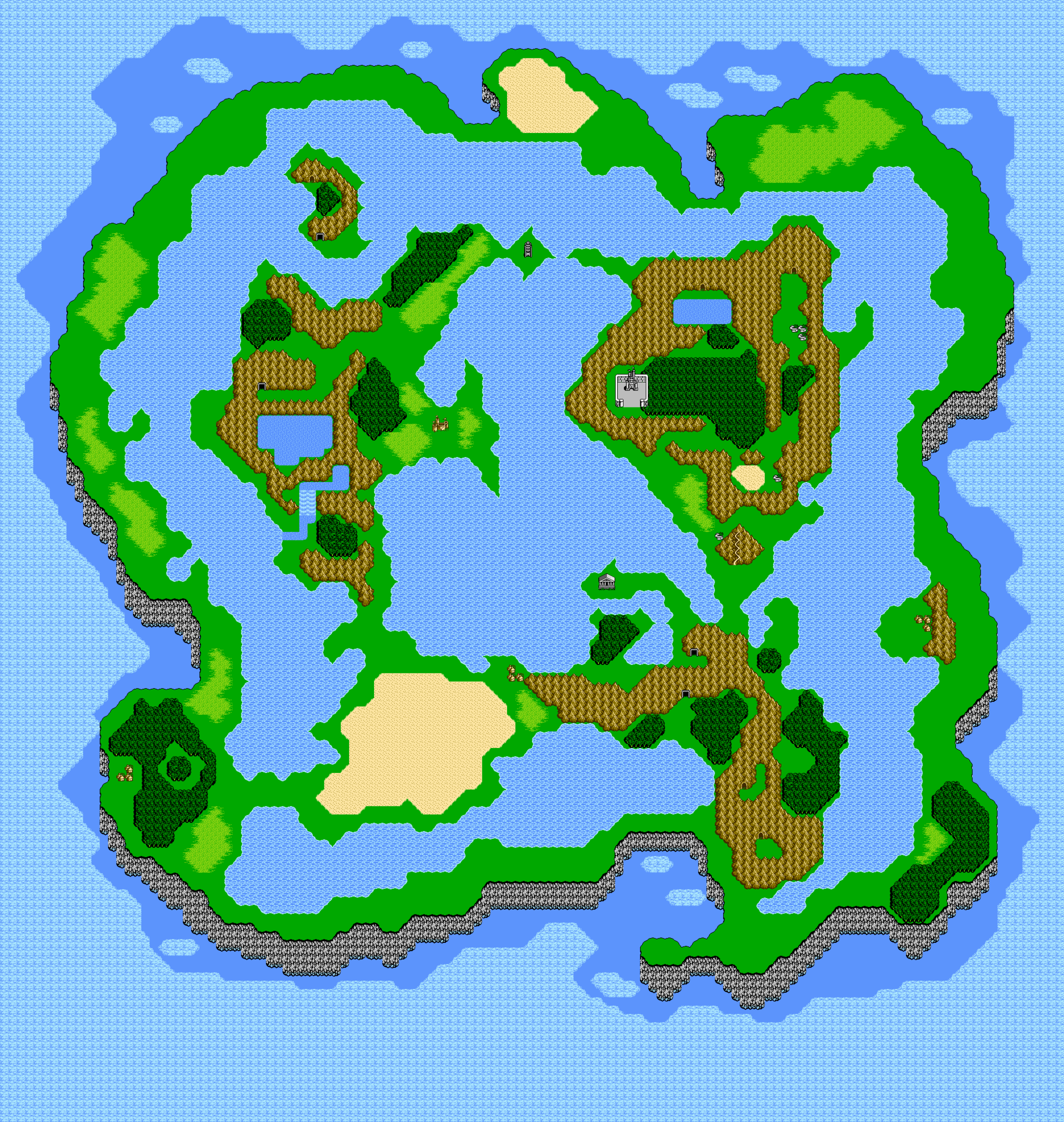 Final Fantasy III locations Final Fantasy Wiki