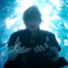 Noctis obtains the ring in <i><a href=