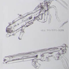 Large and Vehicle-mounted gun concepts.