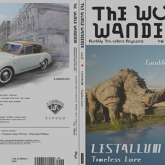 <i>The World Wanderer</i>.