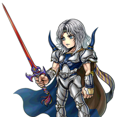 Artwork for Paladin Cecil's costume.