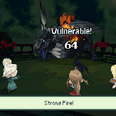 Strong Fire in <i><a href=