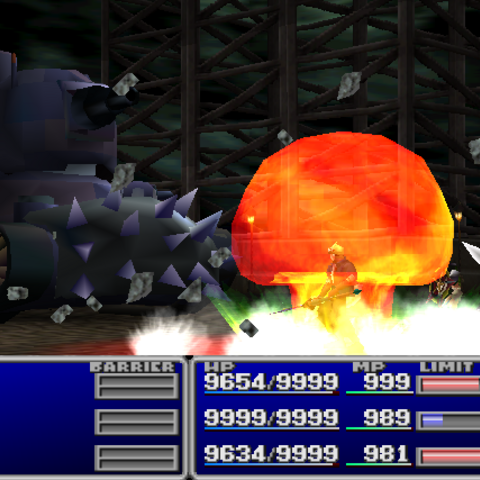Napalm Bomb.