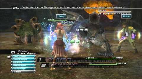 Final Fantasy XIII Combat contre Enki et Enlil