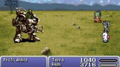 Ultima Weapon and Petrify glitch