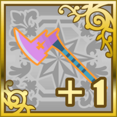 Poison Axe +1 in <i>Final Fantasy Airborne Brigade</i> (SR).
