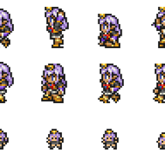 Set of Prishe's sprites.