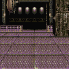 Battle background, Magitek Factory like areas (GBA).