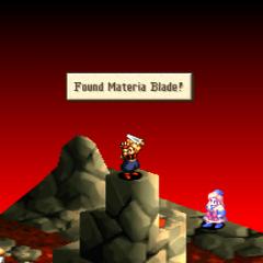 Materia Blade location.