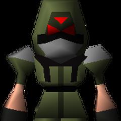 Зеленый пехотинец из <i>Final Fantasy VII</i>.