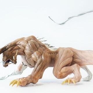 Clay model.