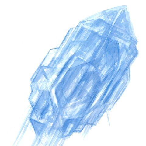 Набросок логотипа, выполненный Ёситакой Амано.